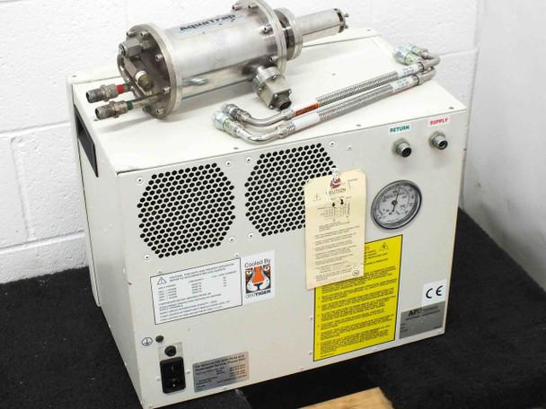 APD Brooks Cryogenics T1101 CryoTiger Compressor AquaTrap T2109 Cold Finger End