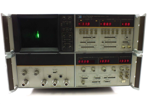 HP 8505A RF Network Analyzer 500 kHz to 1.3 GHz