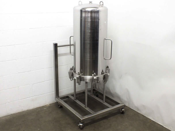 Millistak UC64SFTFT 151L Stainless Steel Filter Housing 10bar ISO-63 Ports