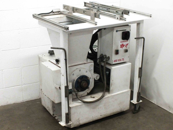 "Conair Martin LP-330 Plastic Granulator Shredder 480VAC 3x5 Blade 1/4"" Screen"