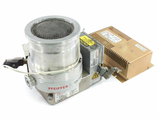 Pfeiffer THM 261 Vacuum Turbo Pump w/ TPS 200 Controller + TC 600 PM Z01 252