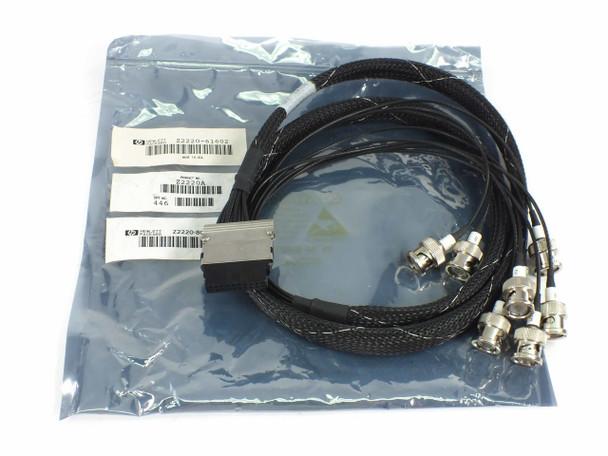 HP Z2220-61602 Breakout Cables for Agilent E1467A VXI Switch Matrix Module
