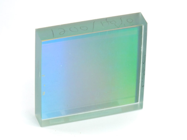 Edmund Scientific 1200l/mm 50mm Spectroscopy Square Diffraction Grating