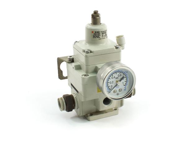 SMC IR3120-N04BG Precision Regulator, 150 PSI Max, 1.5-120 PSI, Mounting Bracket