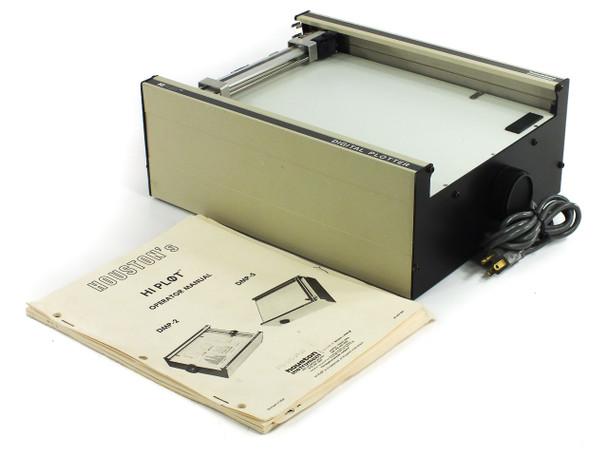 Houston Instruments HiPlot DMP-2 Pen Plotter 115 / 230 VAC with 25-Pin Connector
