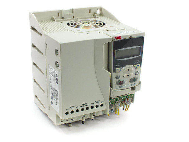ABB ACS355 Machinery Drive with Basic Control Panel Option in IP20/UL Enclosure