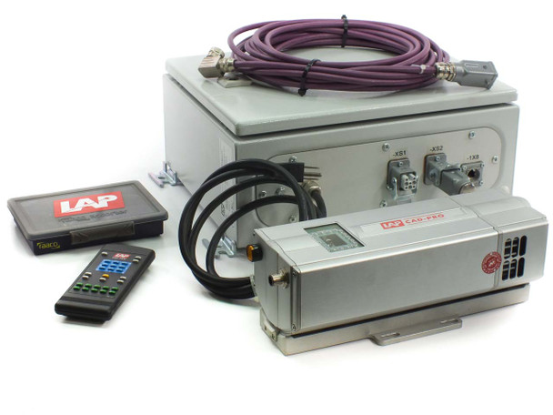 LAP CAD-PRO Laser Projector, Distribution Box, Targets, Remote, Cable, Manual