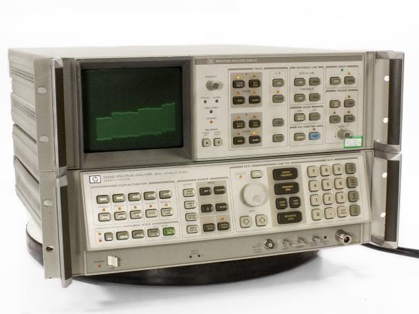 HP 8566B Spectrum Analyzer 100Hz ~ 22GHz Option 85660B - No Rack Ears