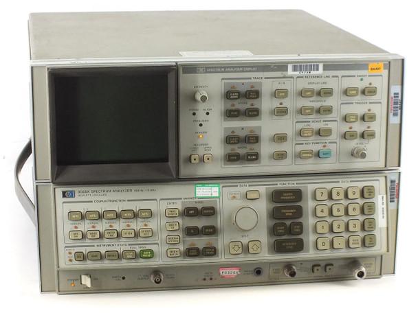 HP 8566B Spectrum Analyzer 100 Hz to 22 GHz, Option 001 - No Rack Ears - As Is