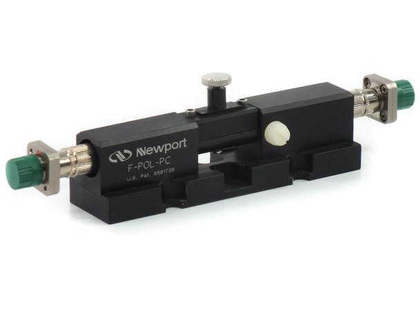 Newport F-POL-PC Fiber Polarization Controller, Male FC/PC Bulkhead Connectors