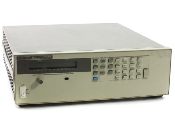 HP 6654A System DC Power Supply 0-60V 0-9A - No Power, Broken Knob - As Is