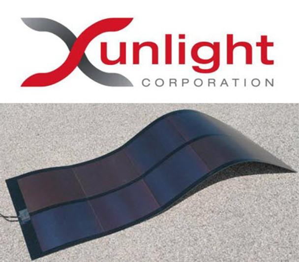 Xunlight XRS8-64 64 WATT Flexible Amorphous Solar Panel for Battery Charging