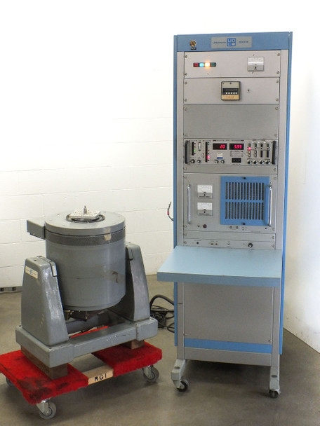 Unholtz Dickie T110 Electrodynamic Shaker with MA250-110 Power Amplifier - As Is