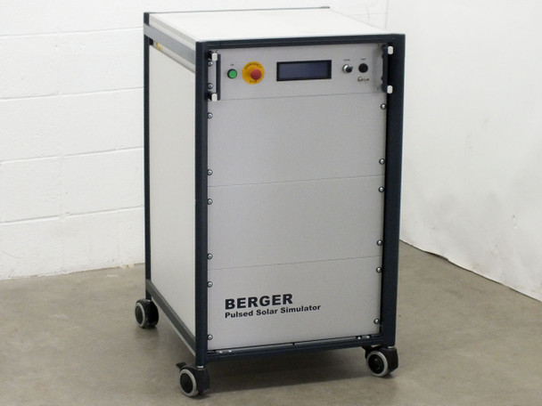 Berger PSS 10 Pulsed Solar Simulator Panel / Cell Testing - 1000V DC Capacitors