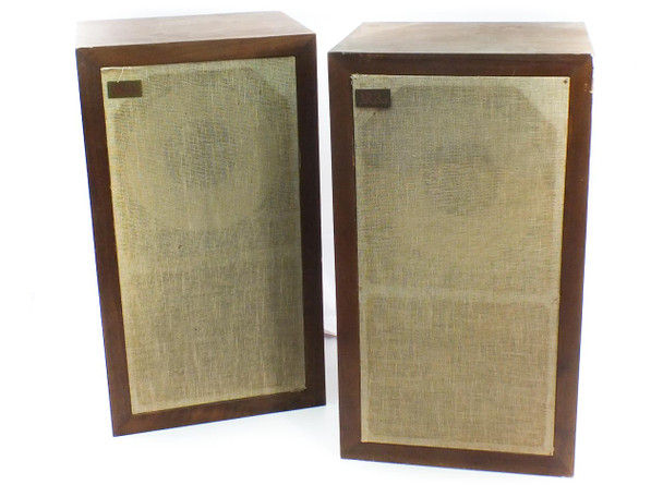 Acoustic Research AR-3a 3-way Acoustic Suspension Speakers - NEED REPAIR - As Is