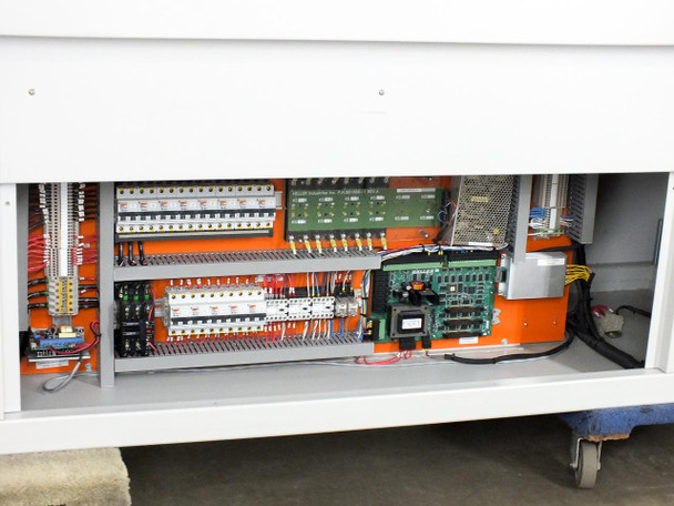 """Heller 1088 EXL Reflow Oven SMT PCB - 18"""" Mesh Conveyor - 93"""" Length - with PC"""