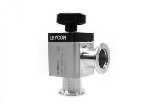 Oerlikon Leybold 215376 Right Angle Straight-Through Valve K25 (VAT 26528-KA01)