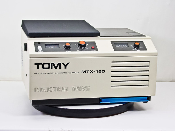 Tomy Seiko MTX-150 Refrigerated Benchtop Centrifuge TMA-11 Rotor - Bad Meter