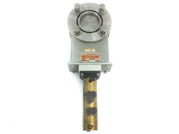 "GNB G3PSO 3"" / 7.5"" Vacuum Gate Valve - Stainless Steel with Pneumatic Operation"