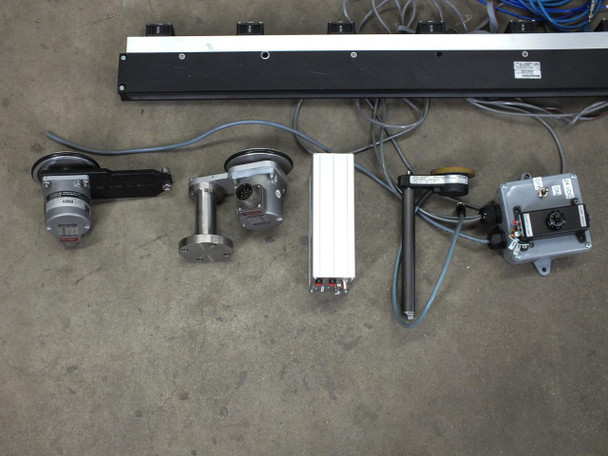 ISRA Vision 4 Camera Video Surface Defect Inspection System with Accessories