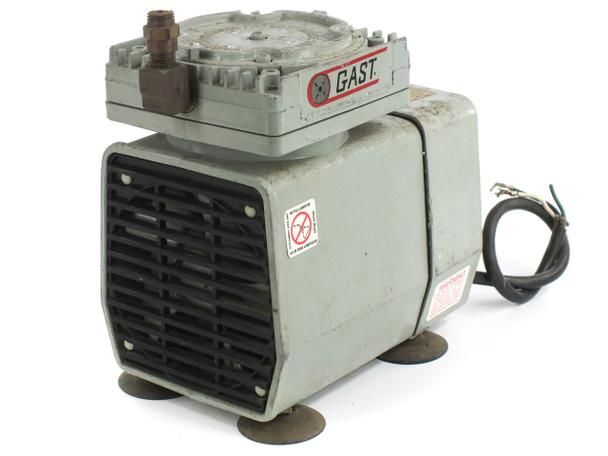 Gast DOA-P126-AA Vacuum Pump 115V - Andrew 40525A Dehydrator 3-8 PSI 0.9 CFM
