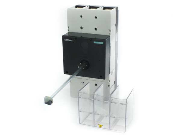Siemens HMX3B600 600A 600V 3-Pole Molded Case Circuit Breaker w/ Enclosure Knob