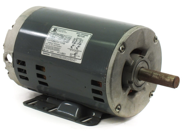 Emerson P63TYDMC-3336 2HP Polyphase Electric Motor 208-460V 3-Phase 1725 RPM