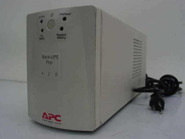 APC 420 VA Back-UPS Pro 420 UPS Power Backup (BP420S) - No Battery