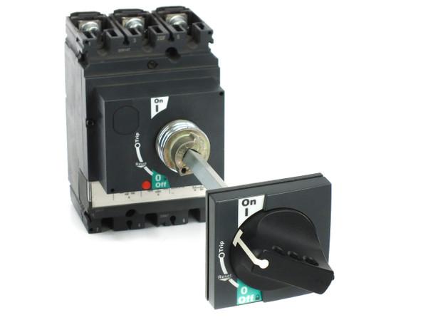 Schneider LV431631 200Amp TM200D NSX250F Circuit Breaker with ON/OFF Knob