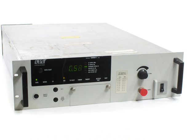 CPI VZC-6964 400W Compact Medium Power Amplifier C-Band RF - Bad Tube - As Is