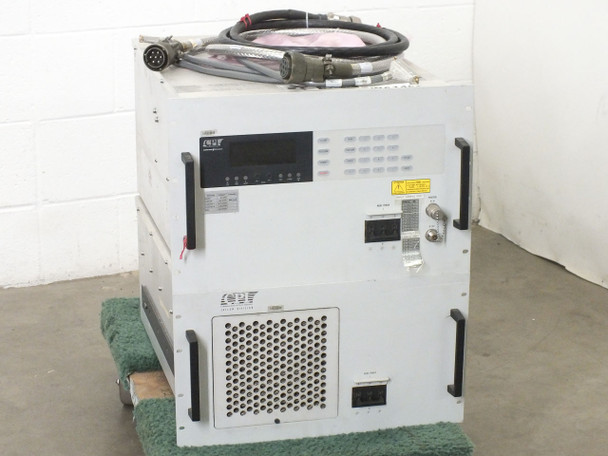 CPI VZC-6965B5 Extended C-Band Satcom 2.25KW TWTA High Power Amplifier - AS IS