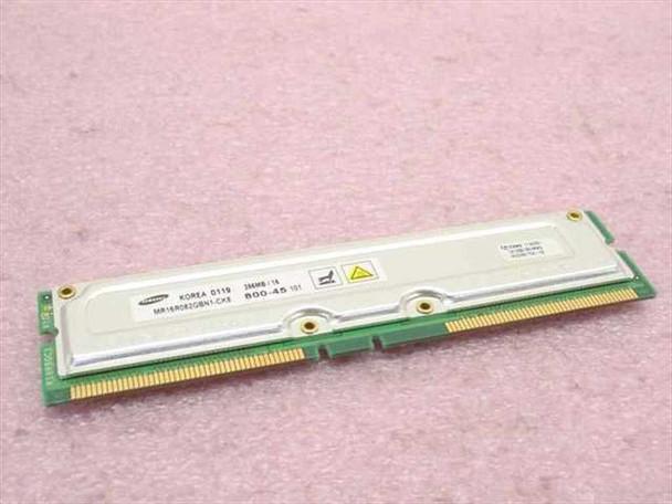 Samsung MR16R082GBN1-CK8 256MB Memory PC800-45 Rambus DRAM