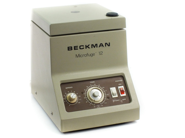 Beckman Microfuge 12 Tabletop Centrifuge - Non-refrigerated, 12500 rpm with Rotor