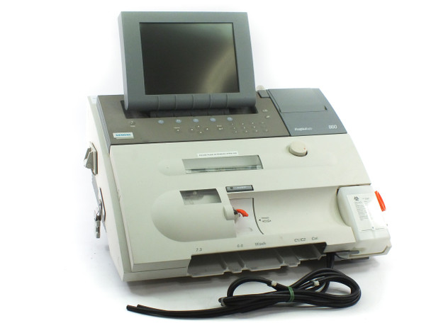 Siemens Rapidlab 860 Blood Gas Analyzer 9 Assays Tested - USED / As Is