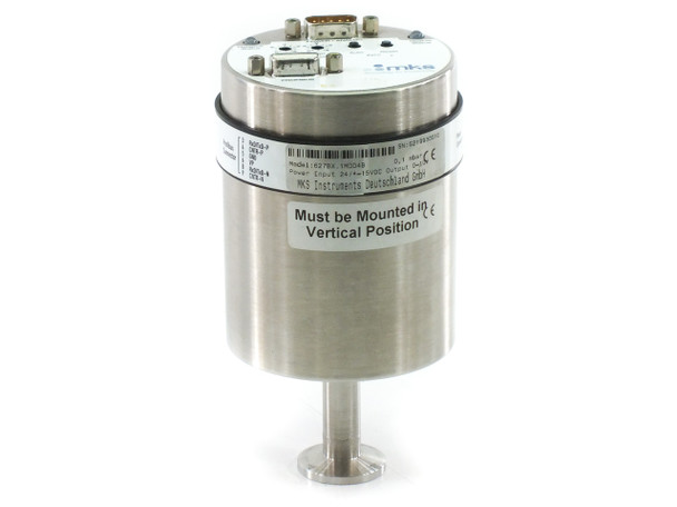MKS 627BX 1MDD4B 0,1 mbar Baratron Profibus Heated Capacitance Manometer Gauge