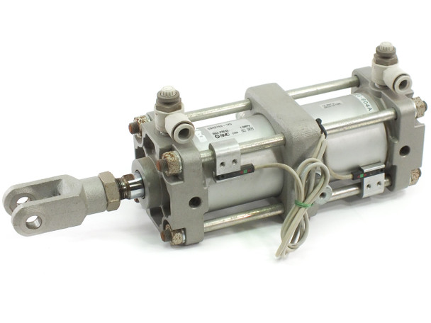 SMC CDA2T63-125 Tie-Rod Pneumatic Cylinder Non-Lube Auto-SW CA1/CA2