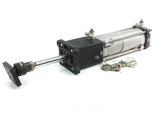SMC CDNAFN100-250 Pneumatic Cylinder 250 mm Stroke Auto Switching