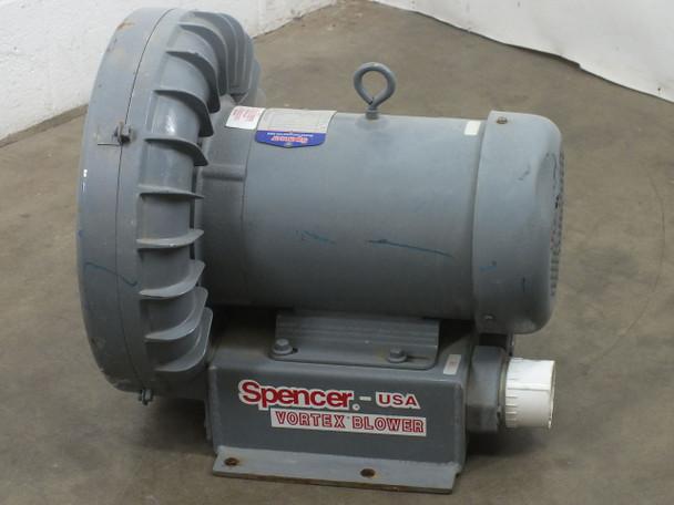 Spencer VB030B-011 Vortex Blower 3.4HP 2850RPM Model VBA93010