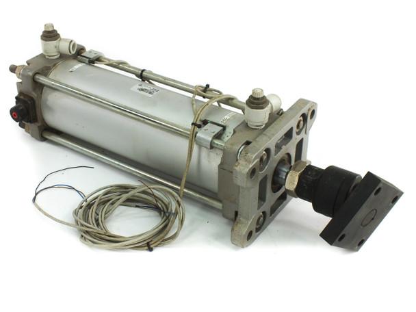 SMC CDBA2F100-250-HL-Y7NWL End Lock Pneumatic Cylinder with 250mm Linear Stroke
