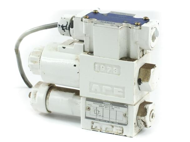 Yuken DSG-01-2B2-D24-60 Hydraulic Directional Valve - MRP-01-C-30 Reducing Valve