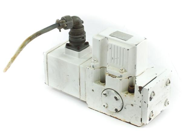 Moog J661B173A Hydraulic Servo Valve from Sumitomo Plastic Injection Molder