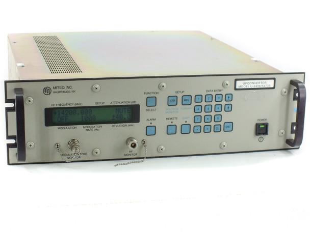Miteq U-9456 574735 KU-Band Up Converter for RF Satcom Signals - Tested WORKING