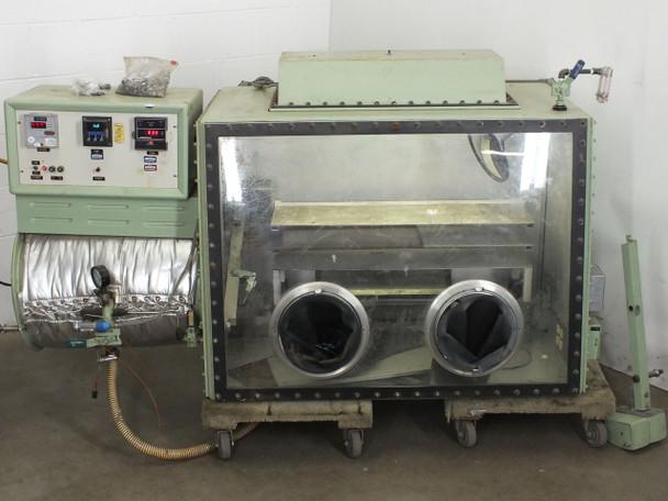 Vacuum Atmospheres Single Width VAC Glove Box w/ Conveyor System - As Is