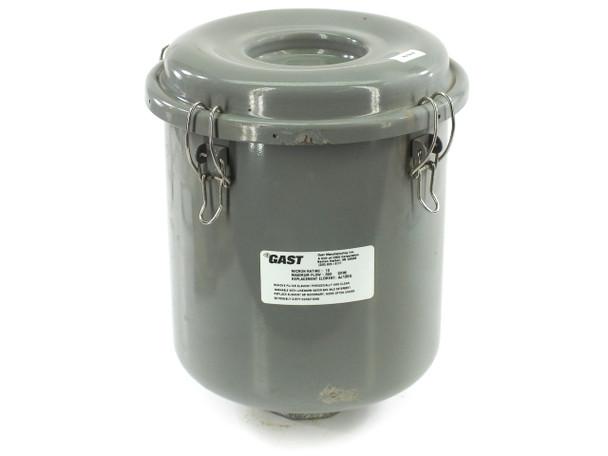 Gast AJ151E Intake Filter Assembly 10 micron 300 cfm uses AJ135G Filter