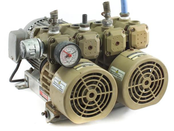 Orion Dry-Pump CBX25 Dry Vane Vacuum Pump 2 Qty KRX-5 Pumps 14.3 CFM Flow Rate