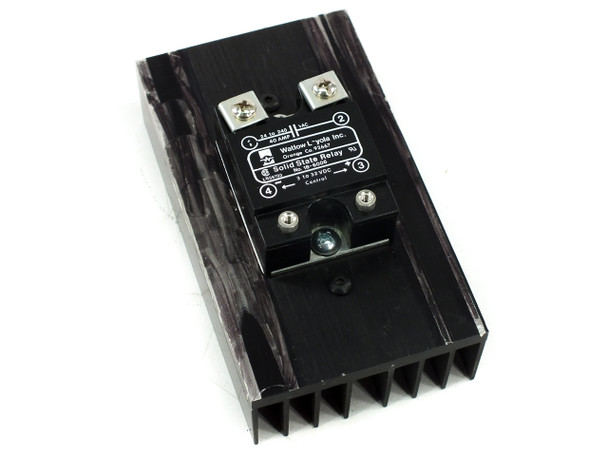 Watlow 18-6006 Solid State Relay with SSR Heatsink 40 Amp 24-240 VAC 3-32 VDC