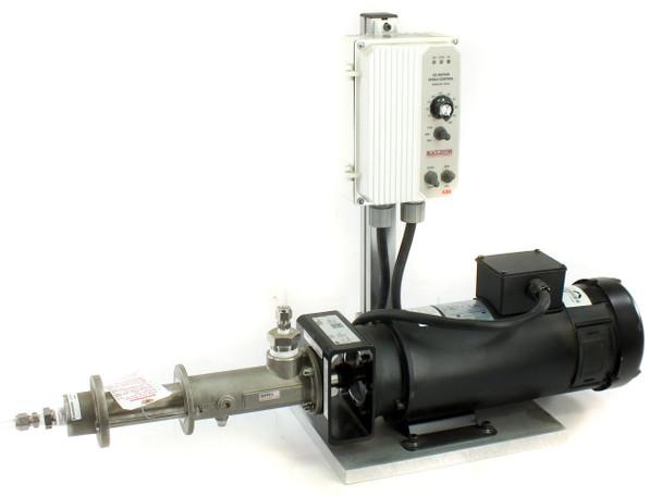 Seepex MD012-12 Cavity Pump - Leeson C14D6FZ1B Motor - Baldor Speed Controller