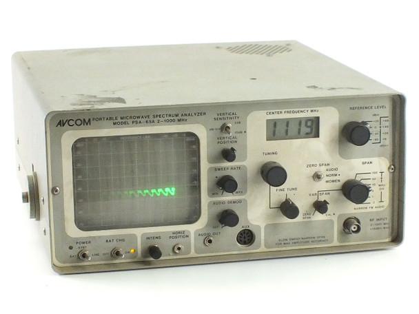 AVCOM PSA-65A Portable Spectrum Analyzer 2 - 1000 MHz