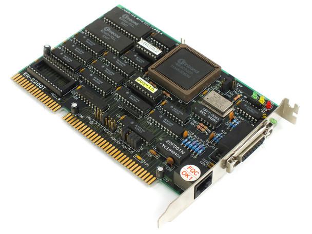 Danpex EN-2200T 16-Bit ISA Network Card for DOS Win95 + 98 (W89C902P / NE2000)