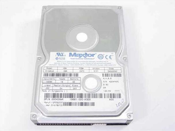 """Dell 10.2GB 3.5"""" IDE Hard Drive - Maxtor 51024U2 43XWK"""
